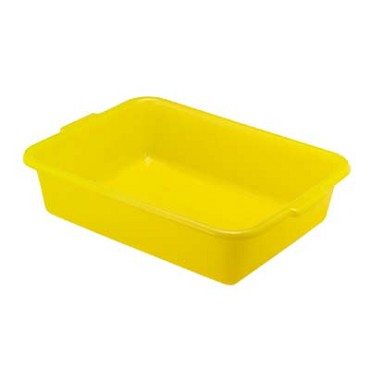 "Vollrath 1521-C08 - Food Storage Box, 20""W x 15""D x 5""deep, yellow (poultry), (Case of 6)"