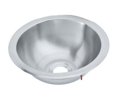 Vollrath 201250 - Drop-In Round Stainless Steel Sink, 10-3/4 x 4-1/2 in.