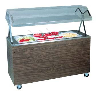 Vollrath 38733 - Portable Non-Refrigerated 3 Pan Salad Buffet w/Granite Wrap Finish