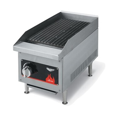 "Vollrath 40728 - Charbroiler, counter top, LP gas, 12"" wide, lava rock/radiant (i"