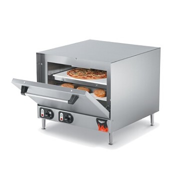 Vollrath 40848 - Pizza/Bake Oven, electric, countertop, two ceramic decks, 15 min