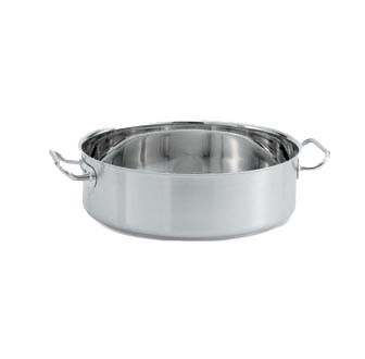 Vollrath 47762 - Intrigue Induction Brazier Pan, 24 qt.