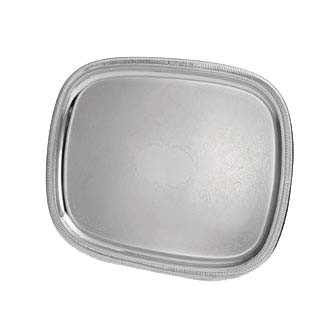"Vollrath 82371 - Elegant Reflections Serving Tray, Oblong, 23-1/2"" x 18-1/2 inch"
