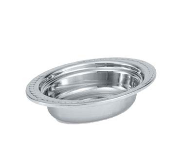Vollrath 8230210 - Decorative Oval Steam Table Pan, 2 qt.