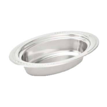 Vollrath 8231320 - Decorative Oval Steam Table Pan, 5.4 qt.
