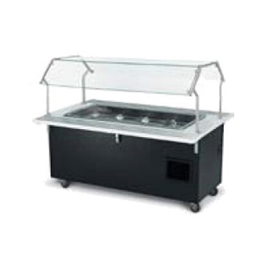 Vollrath 97076 - Signature Server 2.0 Rectangular 5 Pan Salad Buffet