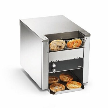 Vollrath CT4B-2081200 - Conveyor Bagel and Bun Toaster, horizontal, 1200/hour, 208v