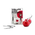 Vollrath 1401 - Tomato King Scooper, Stainless Steel Set of 2