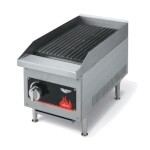 Vollrath 40728 - Charbroiler, counter top, LP gas, 12