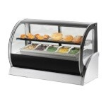 Vollrath 40854 - Refrigerated Countertop Deli Display Case w/Interior Light Strips, 60 in.