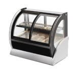Vollrath 40880 - Countertop Refrigerated Deli Display Case w/Front Sliding Doors