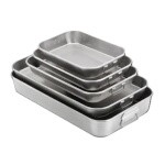 Vollrath 4412 - Bake & Roast Pan, 4-1/2 quart, 9-3/4