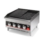 Vollrath 407302 - Cayenne Charbroiler, gas, countertop, 24
