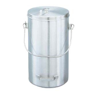 "Vollrath 59200 - Pail with Cover, 19 3/4 quart, Tote, stainless, 9 3/4"" top dia., 16"" height"