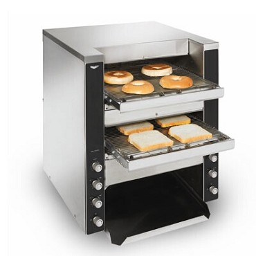 Vollrath CT4-208DUAL - Dual Conveyor Toasters, up to (1,100) slices/hr combined, 208v