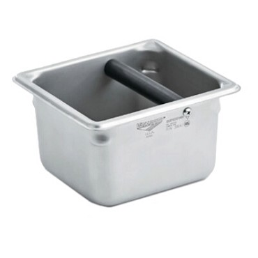 Vollrath E06064-KB - 1/6 Size Stainless Steel Knock Box, 1-7/8 qt.