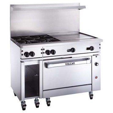Vulcan 48C-2B36GT - Endurance 48 in. Gas Range w/Griddle & Convection Oven