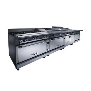Vulcan VWT12B - V Series Heavy Duty Work Top Gas Range, 12 in.