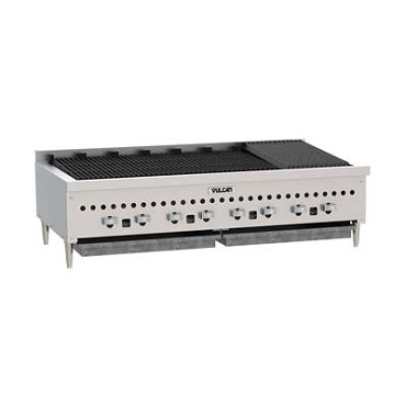 "Vulcan VCCB36 - Charbroiler, Gas, Low Profile Countertop, 36""W, (6) cast iron re"