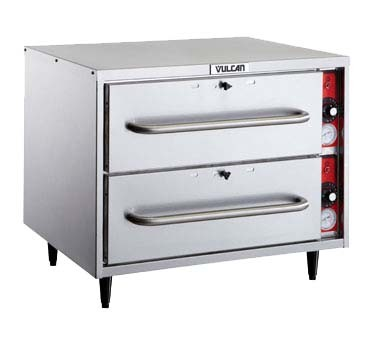 Vulcan VW2S-1M0ZX - Warming Drawer, Free Standing, two drawer, self-closing, one 12""