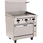 Vulcan 36S-36GT - Endurance 36 in. Gas Range w/Griddle & Standard Oven