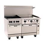 Vulcan 60SC-4B36GT - 60 in. Gas Range w/4 Burners, 1 Convection, & 1 Standard Oven