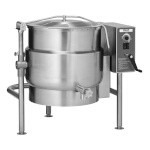 Vulcan K20ELT - Tilting Kettle, Electric, 20-gallon true working capacity, 2/3 jacketed