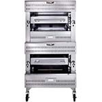 Vulcan VBB2 - Deck-Broiler, Gas, double-deck ceramic burners, (2) 25-1/2
