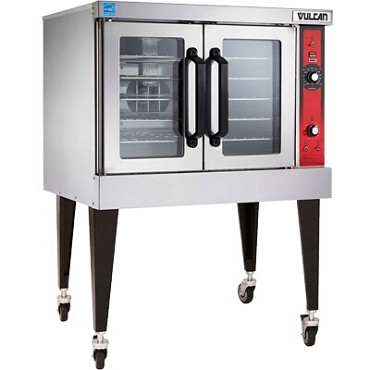 Vulcan VC4GD - Convection Oven, gas, single-deck, standard depth, solid state controls, 60 minute timer