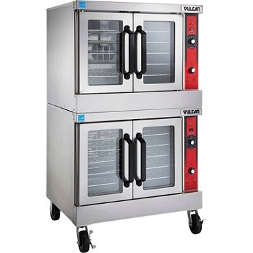 Vulcan VC66GD - Convection Oven, gas, double-deck, bakery depth, solid state controls, 60 minute timer