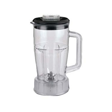 Waring CAC21 - Blender Container, 48 ounce, w/lid for SEB146, MMB142, HGB146, H