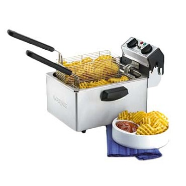 Waring WDF75RC - Electric Countertop Deep Fryer, 8-1/2 lb.