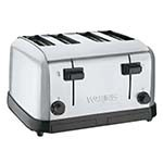 Waring WCT708 - Commercial Toaster, medium-duty, (4) extra wide 1-3/8