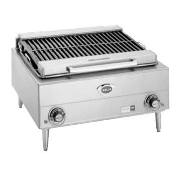Wells B-40 - Countertop Electric Charbroiler, 24 in.