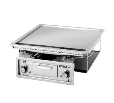 "Wells G-136 - Built-In Griddle, Electric 22"" x 18"""
