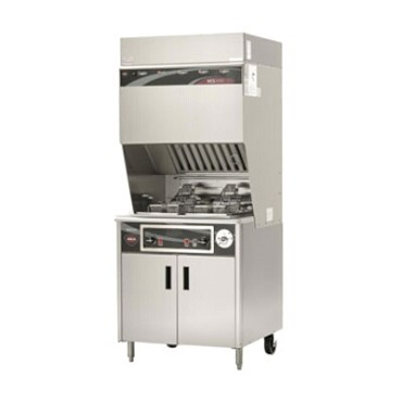 Wells WVF-886 - VCS2000 Ventless Dual Fryer w/Auto-Lifts, electric, dual pot 15