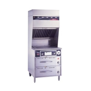 "Wells WVG-136 - VCS2000 Ventless Griddle, electric, 22"" x 18"" grill area, thermo"