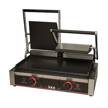 Winco ESG-2 - Sandwich Grill, electric, countertop, double, 22-1/2in. x 12in. x 8in., 19in