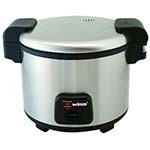Winco RC-S300 - Rice Cooker, 30 cup (60 cup cooked), electric, keeps warm up to 6 hours, h
