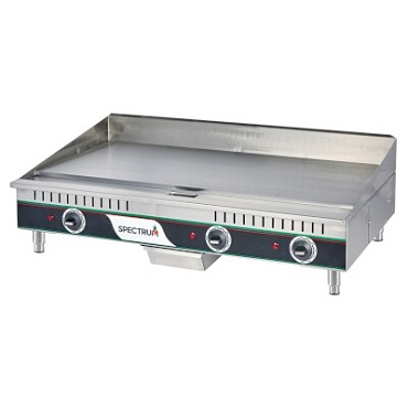 "Winco EGD-36M - Countertop Griddle, 36"" x 16-1/2"" surface, with 1/2"" thick grill surface"