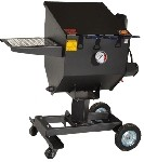 R & V Works FF3-R - Cajun Fryer. 3-Basket Outdoor Fryer