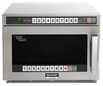 Sharp R-CD1200M - TwinTouch Commercial Microwave Oven, 1,200 watts